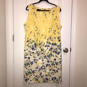 ALYX Yellow Floral Sleeveless Dress. EUC